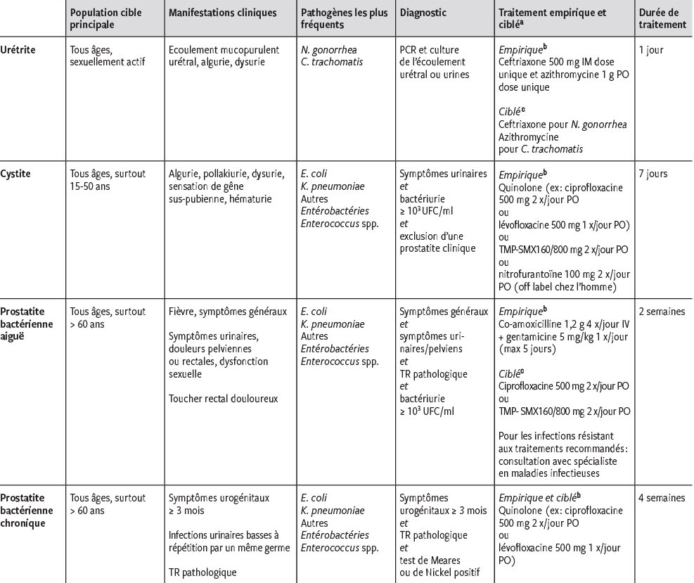 prostatite et escherichia coli infections