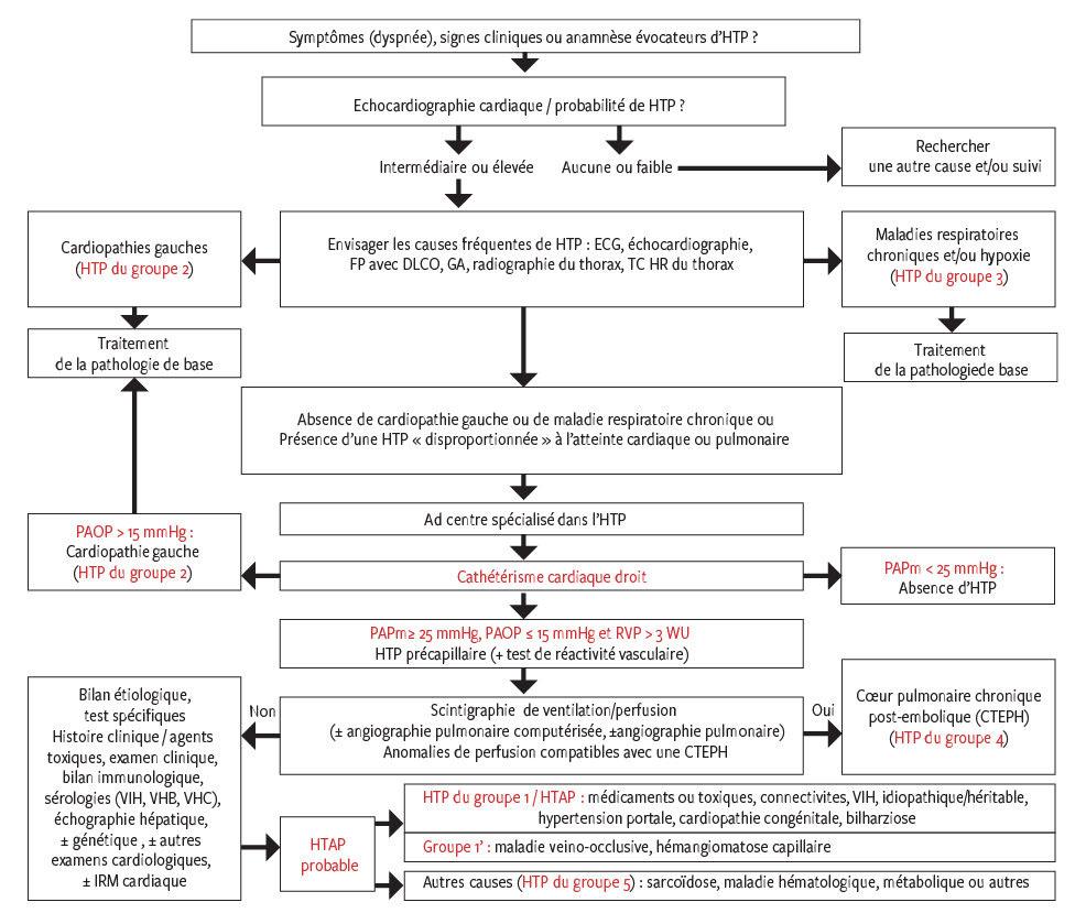 Hypertension pulmonaire pour le généraliste en 2018..